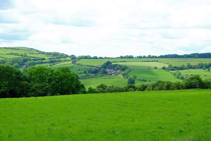 And a chance to take in the views back across the valley