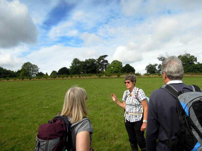 Ann explains how she spoke to the land owner