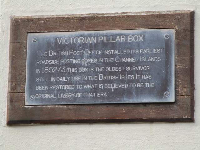 Past this Victorian post box