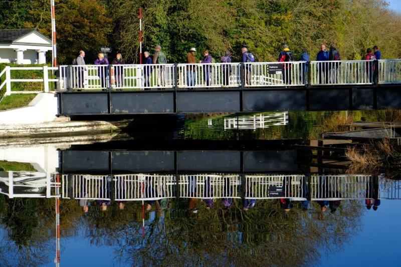 We stand on the bridge