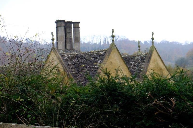 With those owls on the roof that must be Owlpen Manor