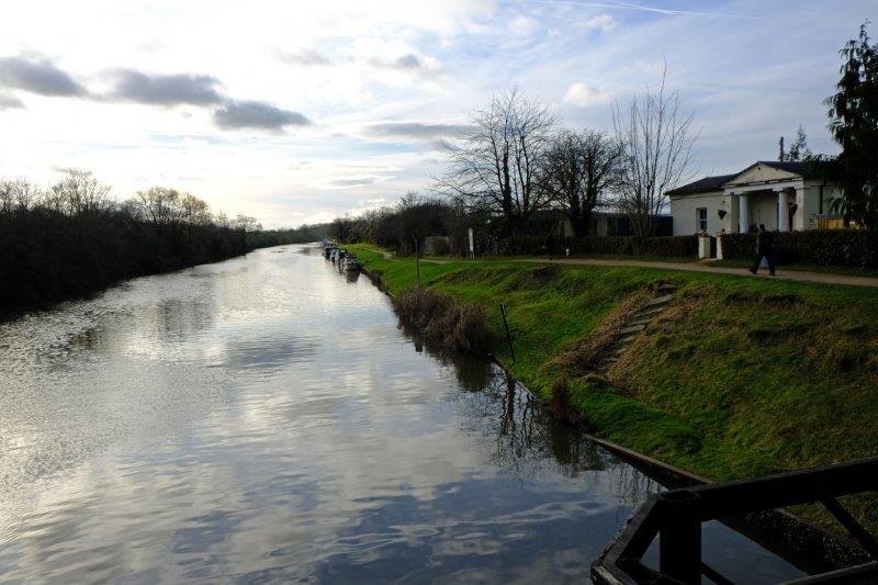 Over the canal