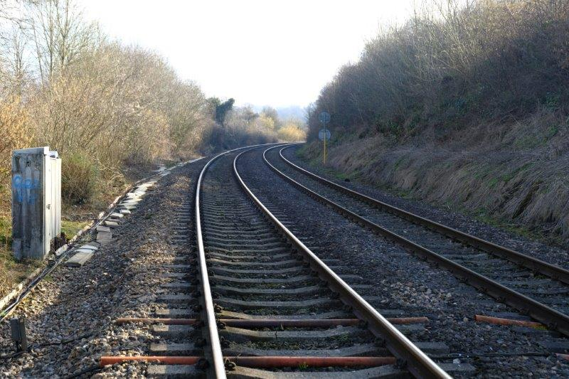 Safely crossing a rather dangerous stretch of railway line