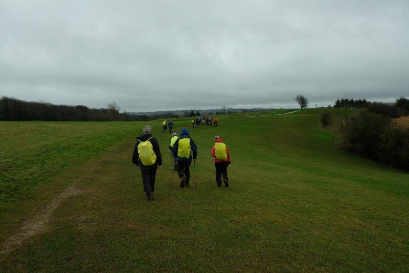 Brings us back onto Stinchcombe Hill