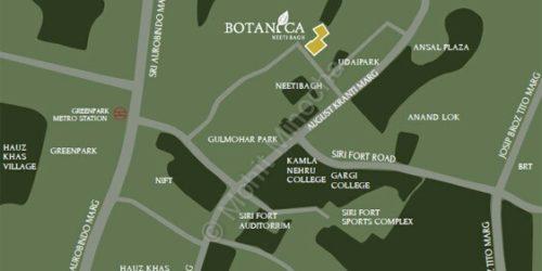 botanica location delhi