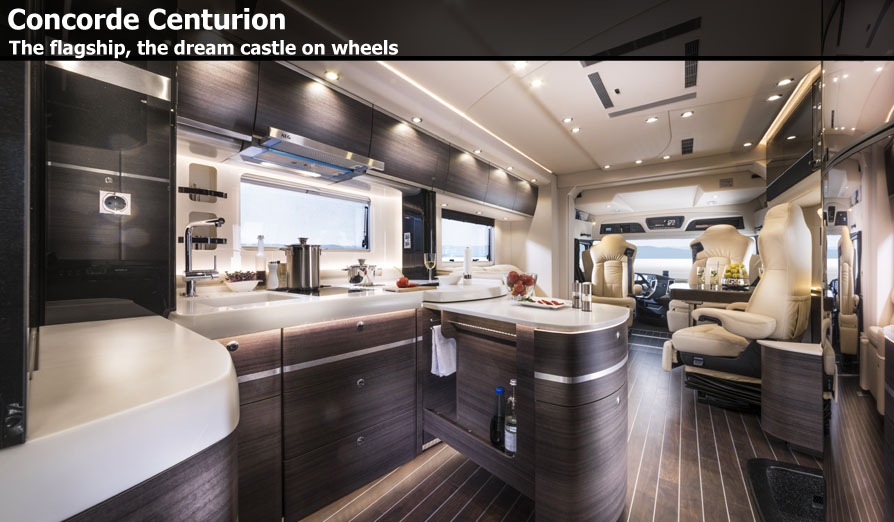 kitchen showroom beach cabinets concorde centurion motorhomes for sale at southdowns ...