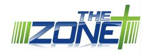 the zone banner