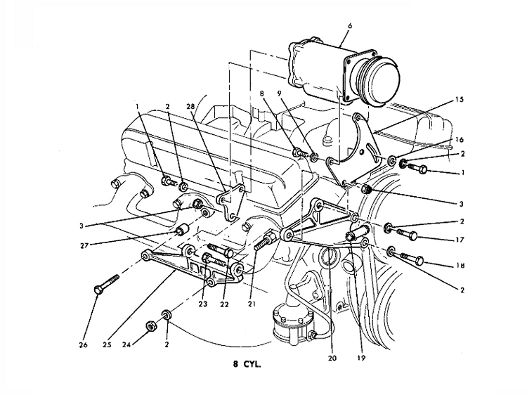 283 Chevy Engine Parts Diagram. Chevy. Auto Wiring Diagram