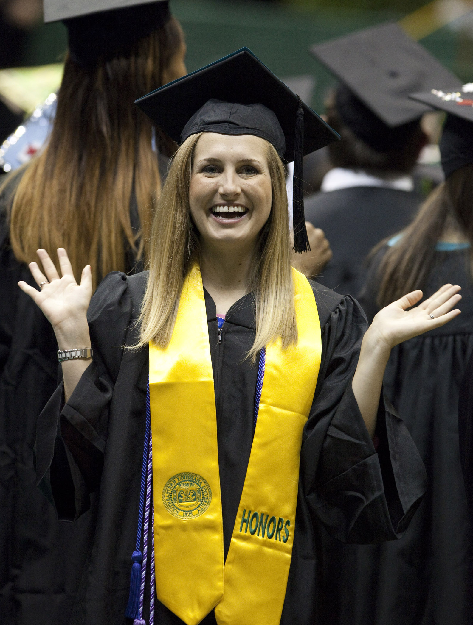 Southeastern Confers Degrees On Approximately 1200