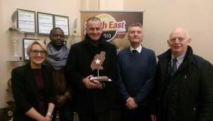 Fr Sean Devereaux, December Outstanding Achievement Award Winner