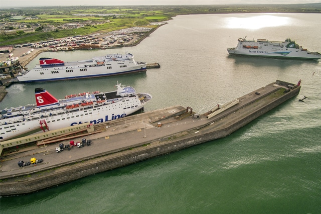 MINISTERIAL VISIT TO ROSSLARE EUROPORT