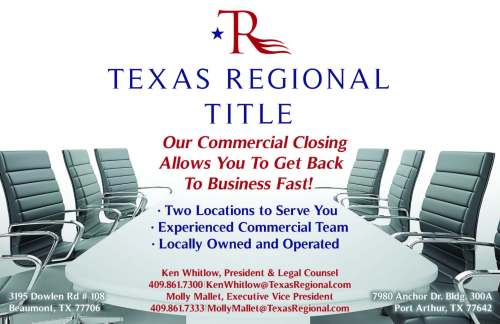 Southeast Texas Commercial Real Estate Closings