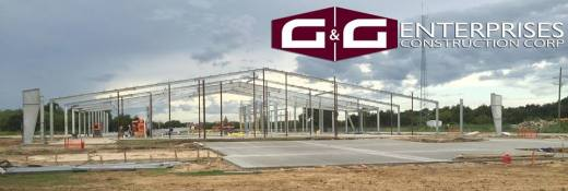 G and G Construction Logo - Beaumont Commercial Contractor