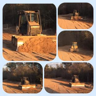KAT Construction Bulldozer work Beaumont TX