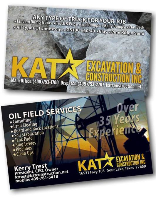 KAT Excavation and Construction Sour Lake
