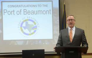 The Port of Beaumont Spindletop Award