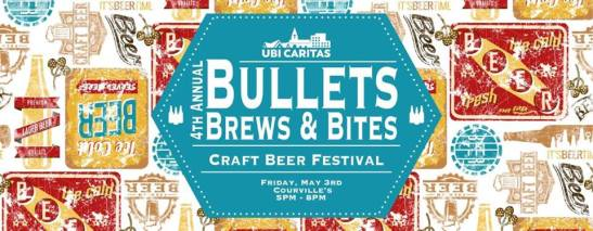 Bullets Brews and Bites, Bullets Brews and Bites 2019, Courville's Beaumont, Rich Courville, Denise Berry, Beaumont Events, SETX events, Southeast Texas events, craft beer Beaumont TX,