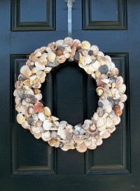 Seashell Wreath, Beach Wreath, Shell Wreath, Summer Wreath ...