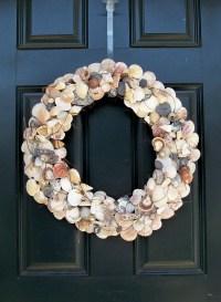 Seashell Wreath, Beach Wreath, Shell Wreath, Summer Wreath ...
