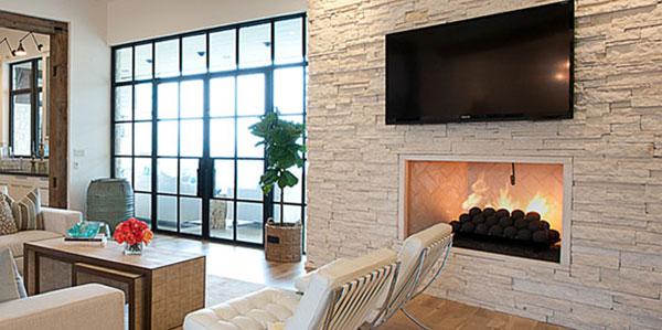 Masonry Southern Fireplace