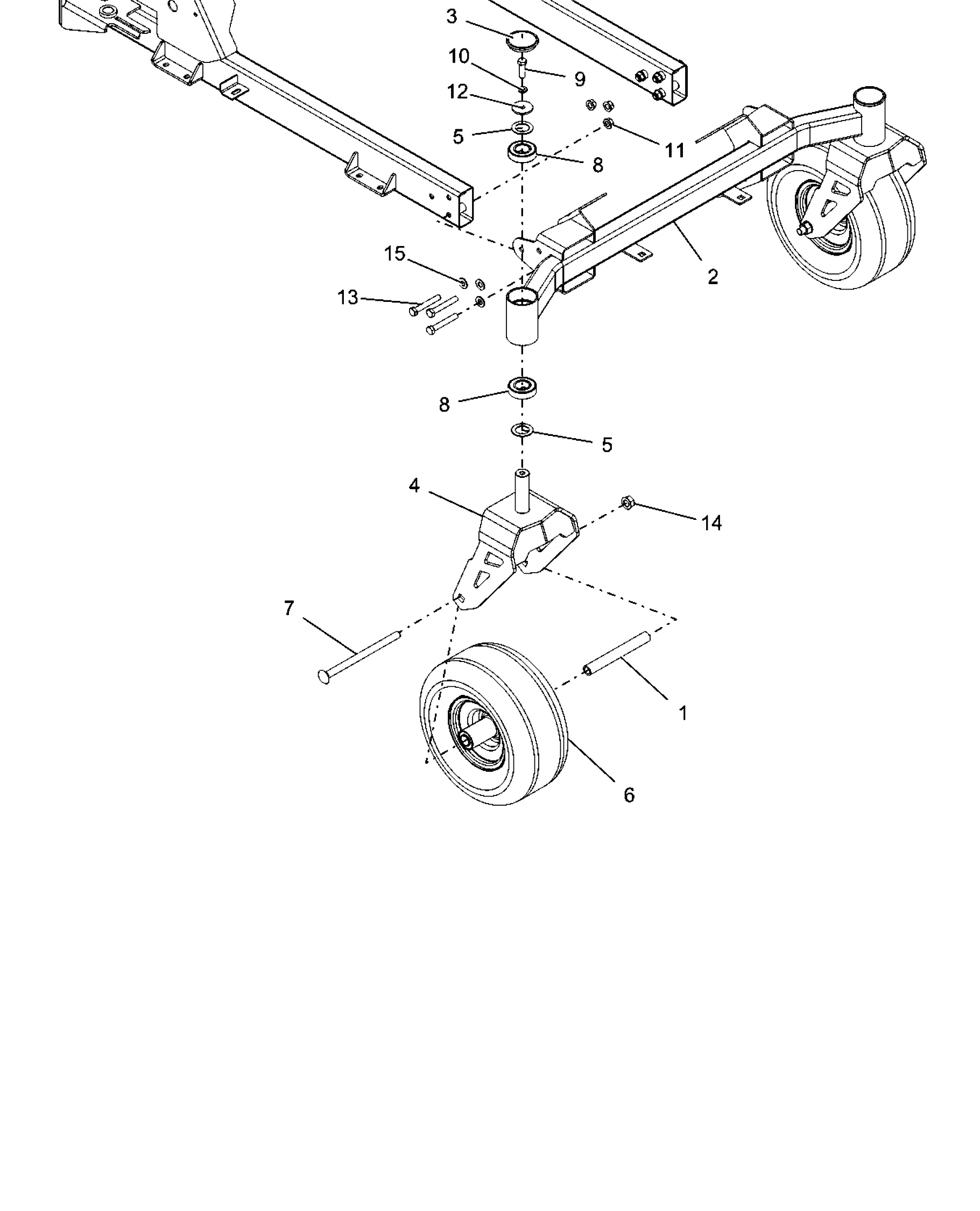 Front Caster Wheels