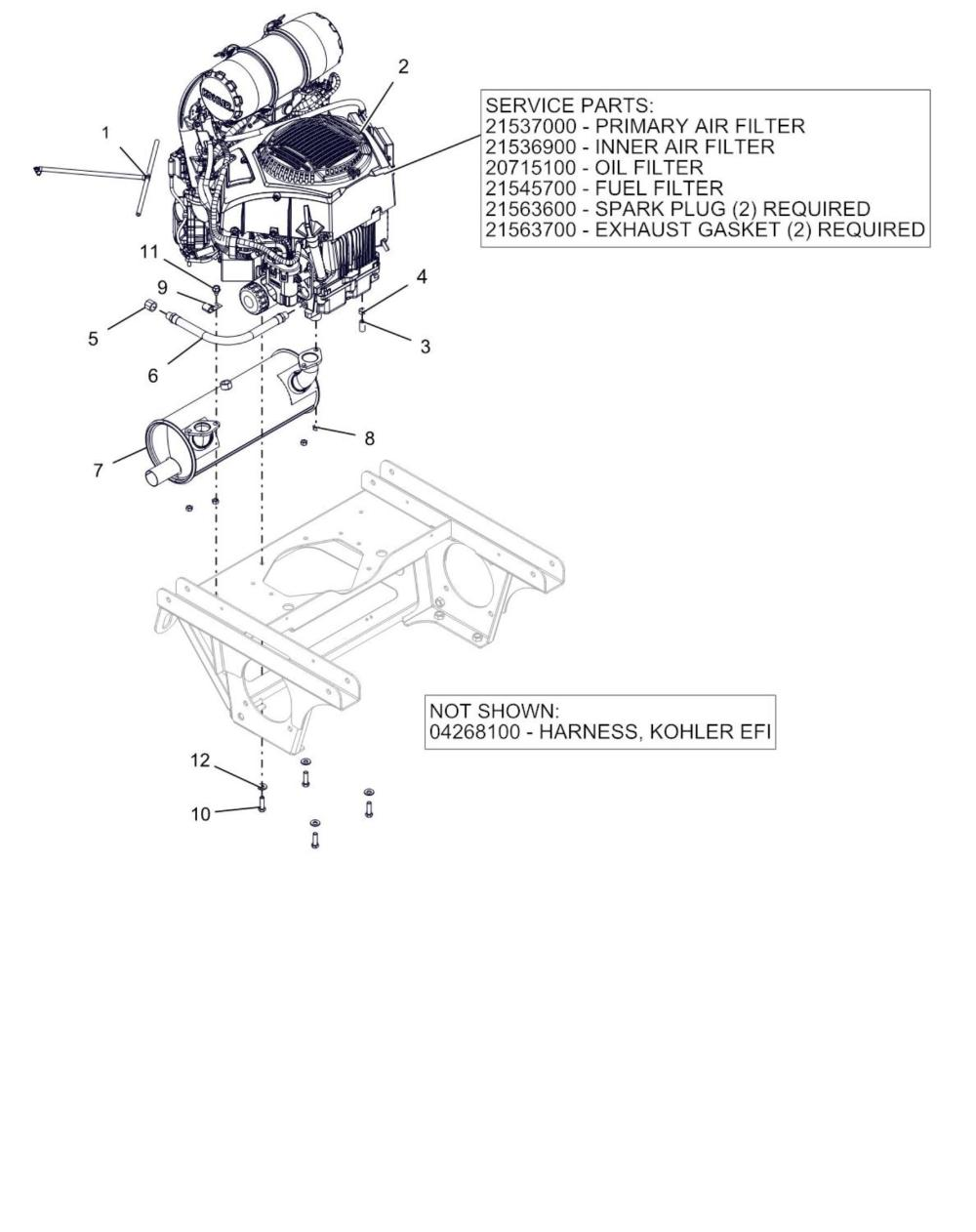 medium resolution of kohler engine fuel filter