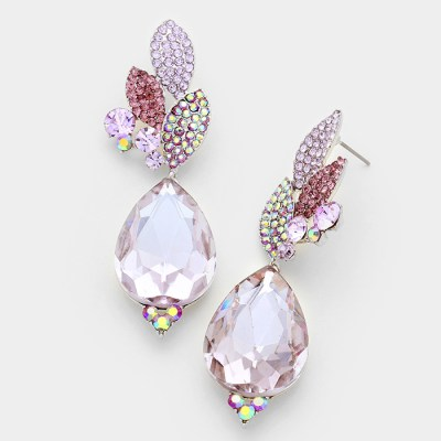 Annaliese Earrings -Violet