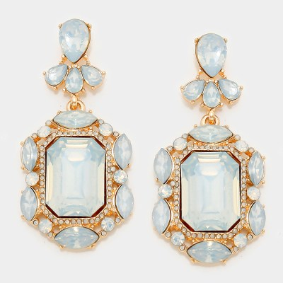 Southern Belle Glitz Ellie Opal Earrings