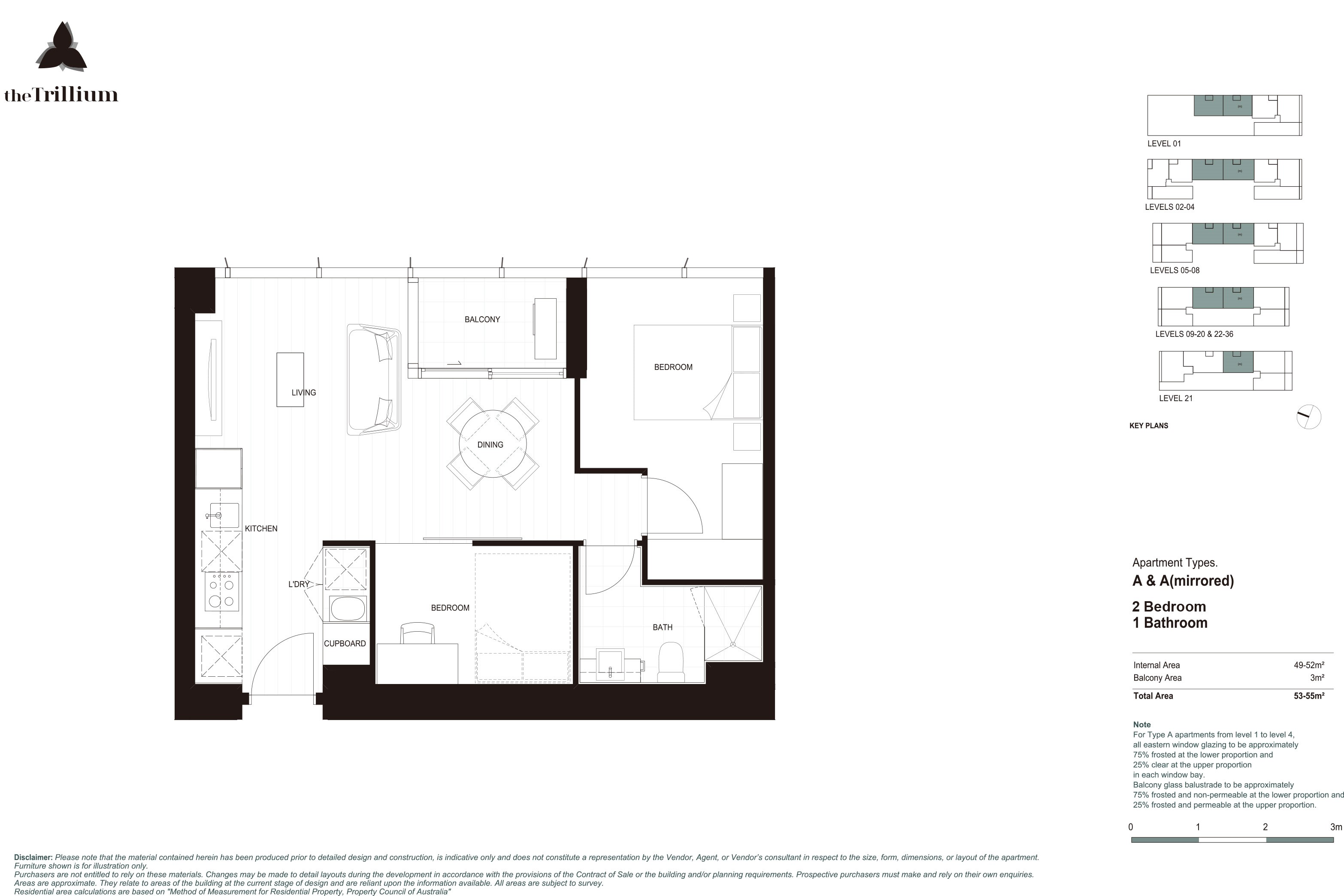 As Brand New 2 Bedroom Trillium Apartment for Sale