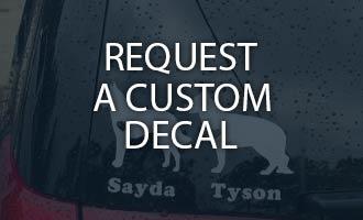 request a custom decal