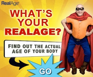 Not feeling your age take the real age test to find out your real age!