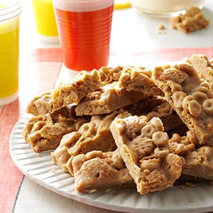 No Bake Cereal Bars Recipe