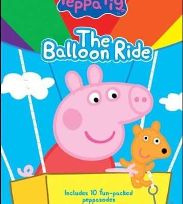 Peppa Pig: The Balloon Ride DVD