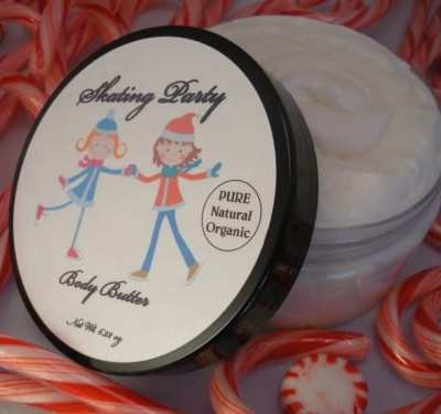 Hothouse Botanicals: Sugared Maple Whipped Sugar Scrub and Skating Party Organic Body Butter