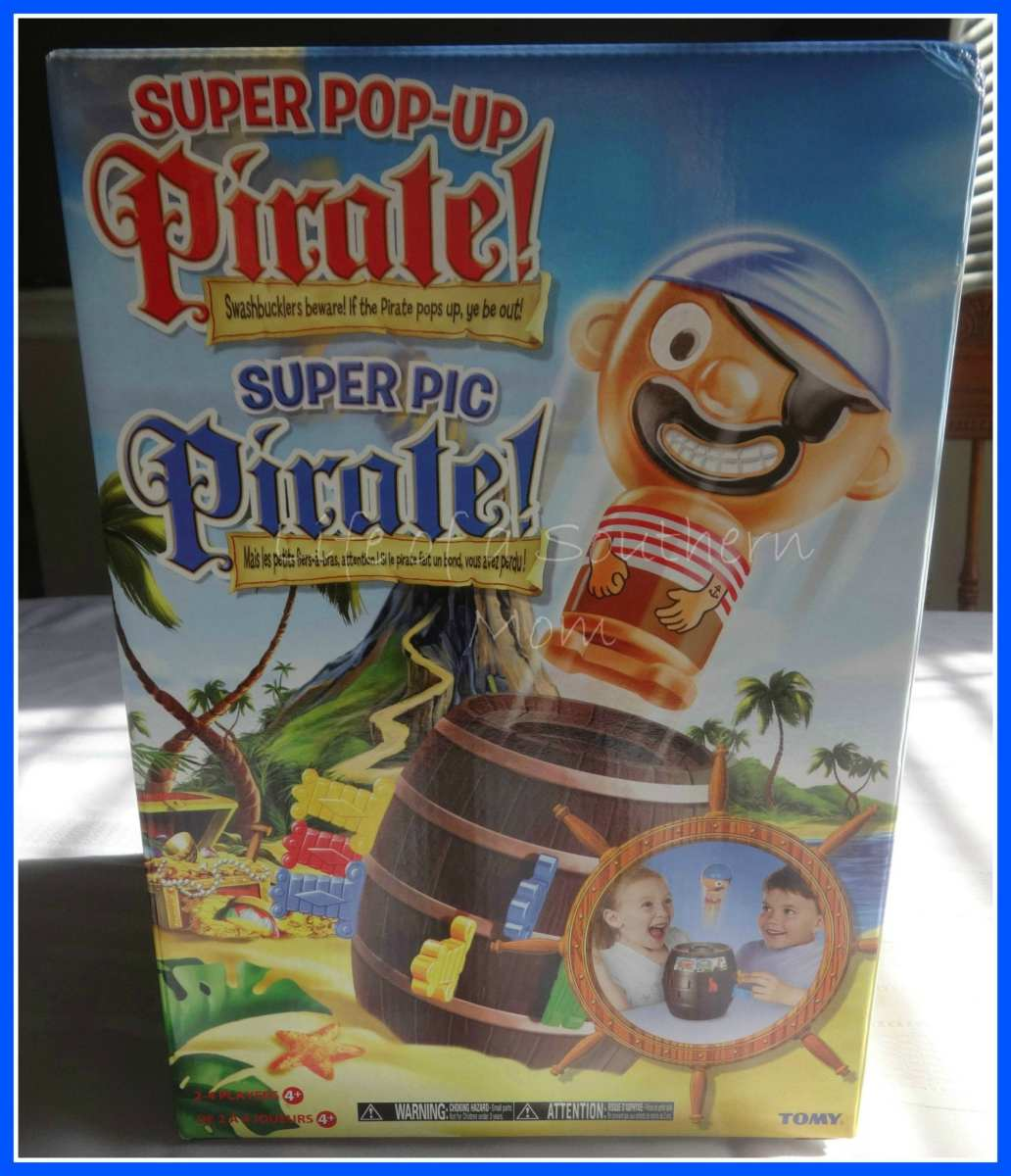 Super Pop-Up Pirate Game for Kids! {Review}