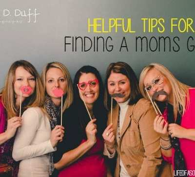 Helpful tips for finding a Mom's group