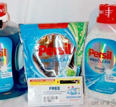 The All New Persil ProClean Laundry Detergents #PersilProClean