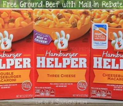Have a hassle-free dinner with #Freebeef Hamburger #Helper