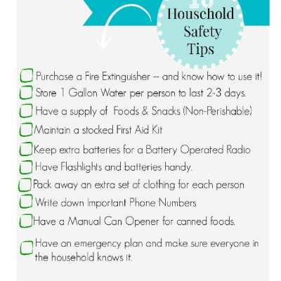 10 Household Safety Tips