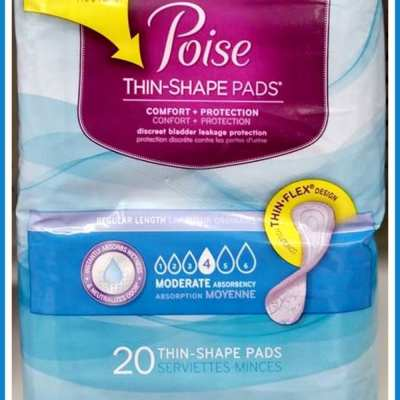 Stay protected with Poise® Thin-Shape Pads and #RecycleYourPeriodPad