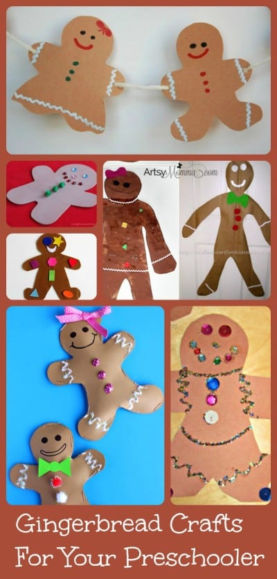 Gingerbread Crafts for your Preschooler