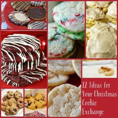 12 Ideas for your Christmas Cookie Exchange