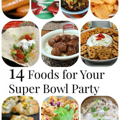 14 Foods for Your Super Bowl Party