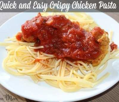 Quick and Easy Crispy Chicken Pasta Dinner
