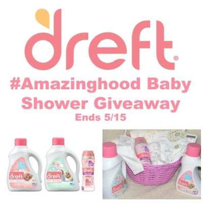 Win a Dreft #Amazinghood Baby Shower Giveaway! 5/15