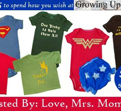 Win $35 to spend at Growing Up Geeky's Etsy Shop! 5/24