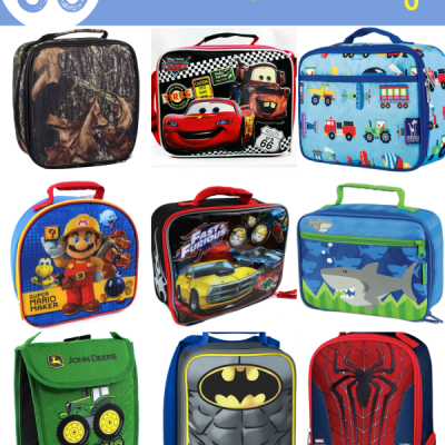50 Lunchboxes for Boys Under $30