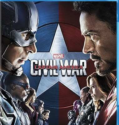 Bring Home Marvel's Captain America: Civil War on Blu-Ray Sept 13th!