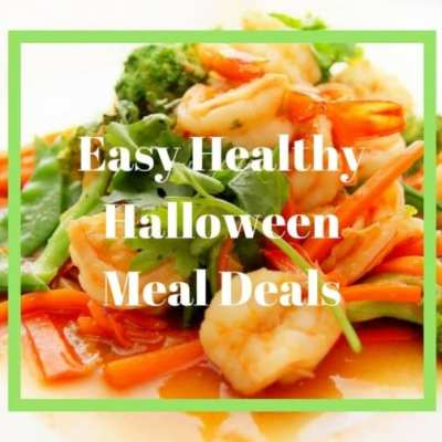 Easy Healthy Halloween Meal Ideas