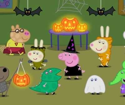 """Get Ready for the all-new Peppa Pig """"Pumpkin Party"""" on Nick Jr. Sunday, October 23rd + Fun Activity Sheets!"""